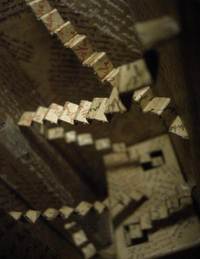 """""""Mise en boite de la pensée-8"""" 2007"""