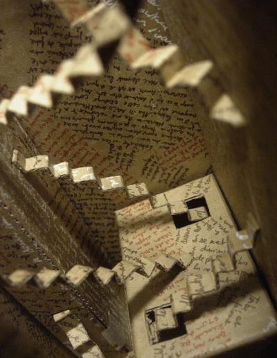 """""""Mise en boite de la pensée-5"""" 2007"""