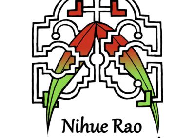 "Logo pour le centre ""Nihue Rao"" de Ricardo Amaringo, centre d'apprentissage de la médecine traditionnelle Shipibo-conibo, photoshop, 2013"
