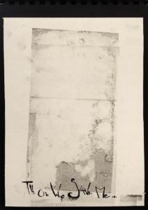 """""""Le temps d'une infection sauve"""" livre réaliser entièrement à la main par l'artiste Teddy Ros sur un texte de Floria Sigismondi, fait à l'estampe à Bruxelles"""