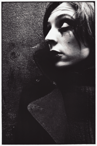 Photo argentique réaliser par l'artiste Teddy Ros, prise de vue et tirage, représentant le portrait du Sophie