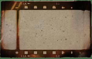 cadre de fond dark side vidéo pellicule