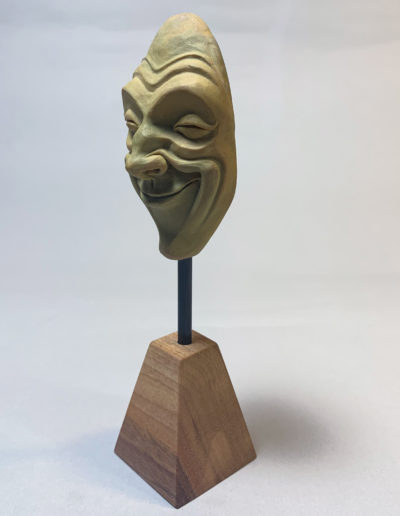 """mask 01"" 2019 the original polymer clay"