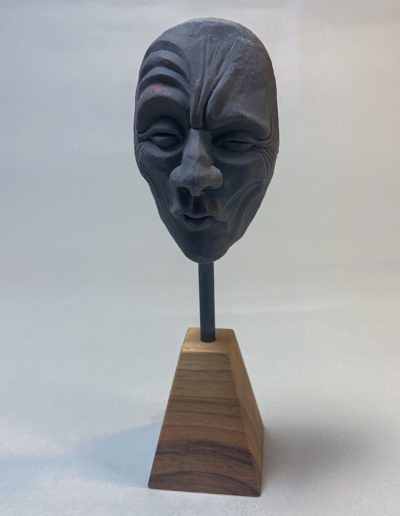"""mask 03"" 2019 the original polymer clay"