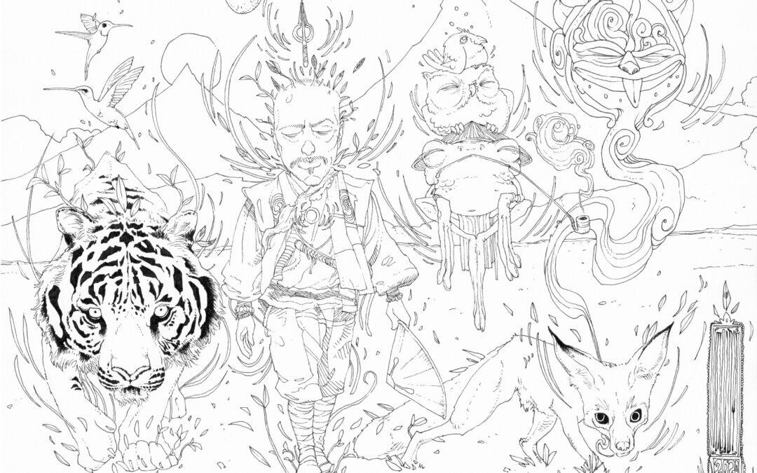 «Guimabarde-samouraï» Nouvelle illustrtation