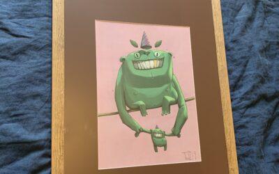 «Papa Green» impression A3 !!!